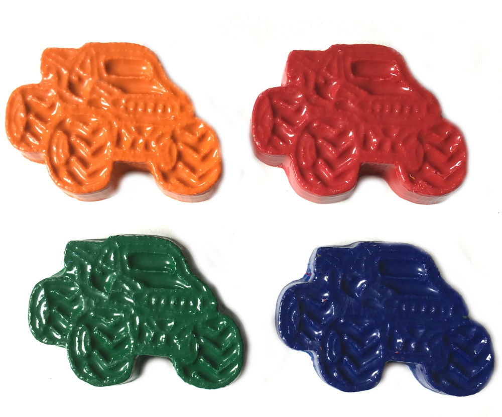 Monster Truck Crayons