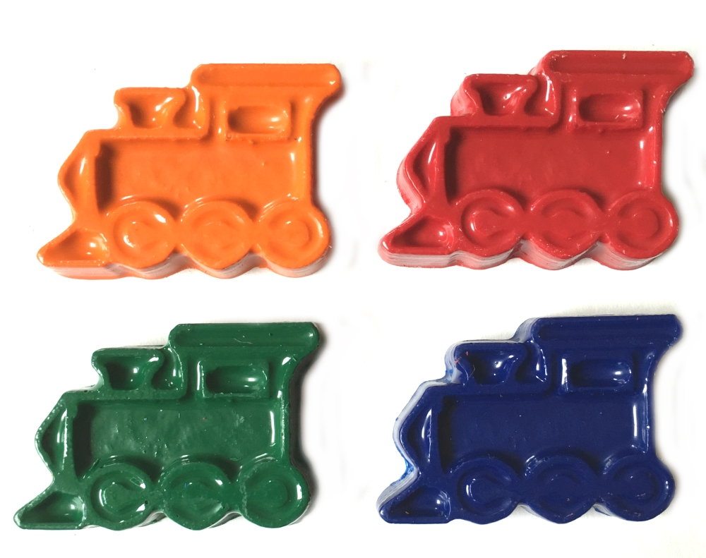 Train Crayons